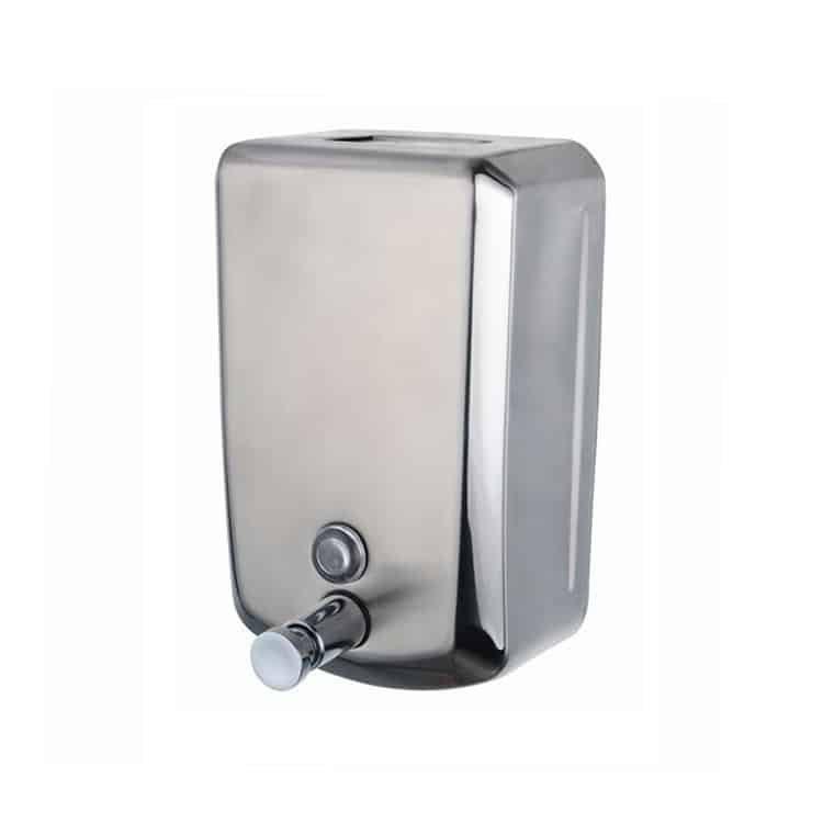 S.Steel Soap Dispenser 500ml V Shape